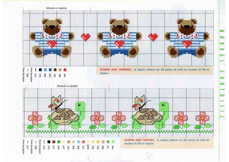 Grilles gratuites motifs bebes enfants - Point de croix grilles gratuites a imprimer ...