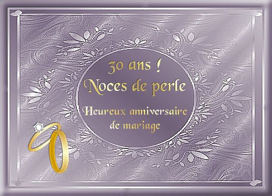 30 ans de mariage noces - 30 Ans De Mariage Noce